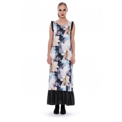 Apoteca. Long silk dress BASIL