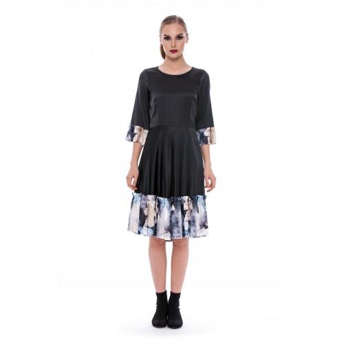 Apoteca. Silk dress PARSLEY