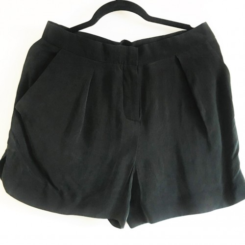 COS. Black Shorts