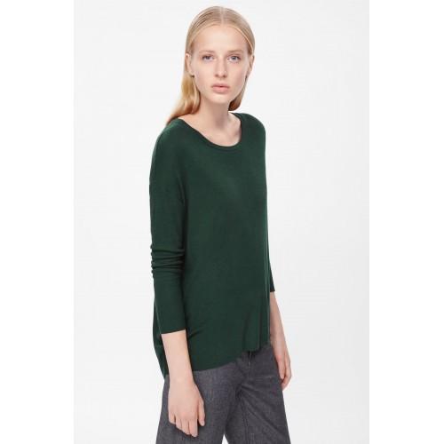 COS. Dark Green Sweater