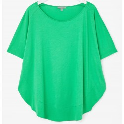 COS. Green Blouse