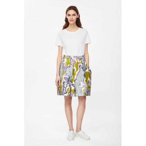 COS. Printed Skirt