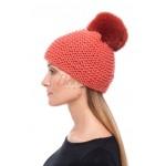 BEAUTYFUR. Megzta vilnos kepurė