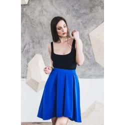 Instinct. Rugiagėlės spalvos sijonas su kišenėmis