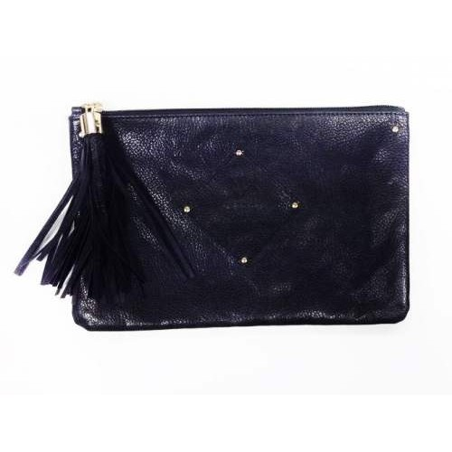 "Margot Label by Serge Gandzumian. ""Jazz Clutch Purple"""