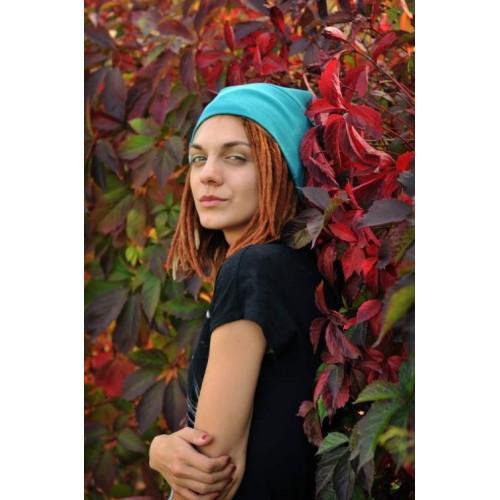 MAUFashion. Mėtų spalvos kepurė