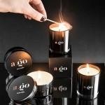 A.GO. Baltic amber. Didelė žvakė